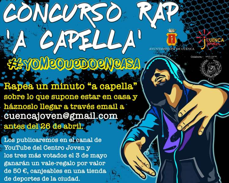 "Consurso de  Rap ""A Caoella"" @yomequedoencasa"