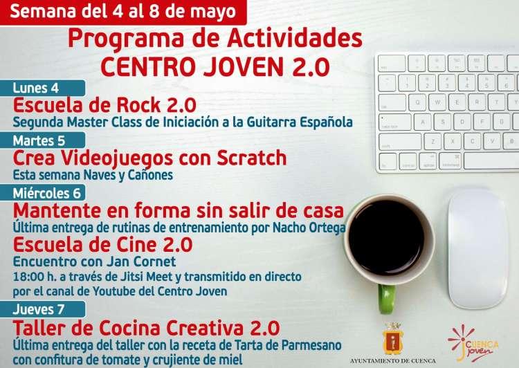 Programación  Semana 4 al 8 de mayo