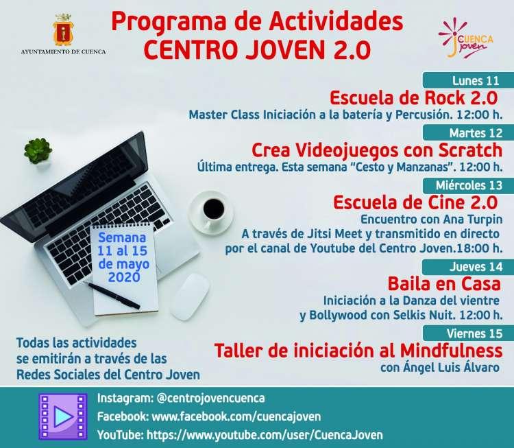 Programa Semana del 11 al 15 de Mayo